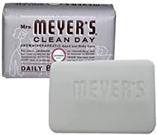 2 Packs of Mrs. Meyer's Bar Soap - Lavender - 5.3 Oz by Mrs. Meyer's Clean Day