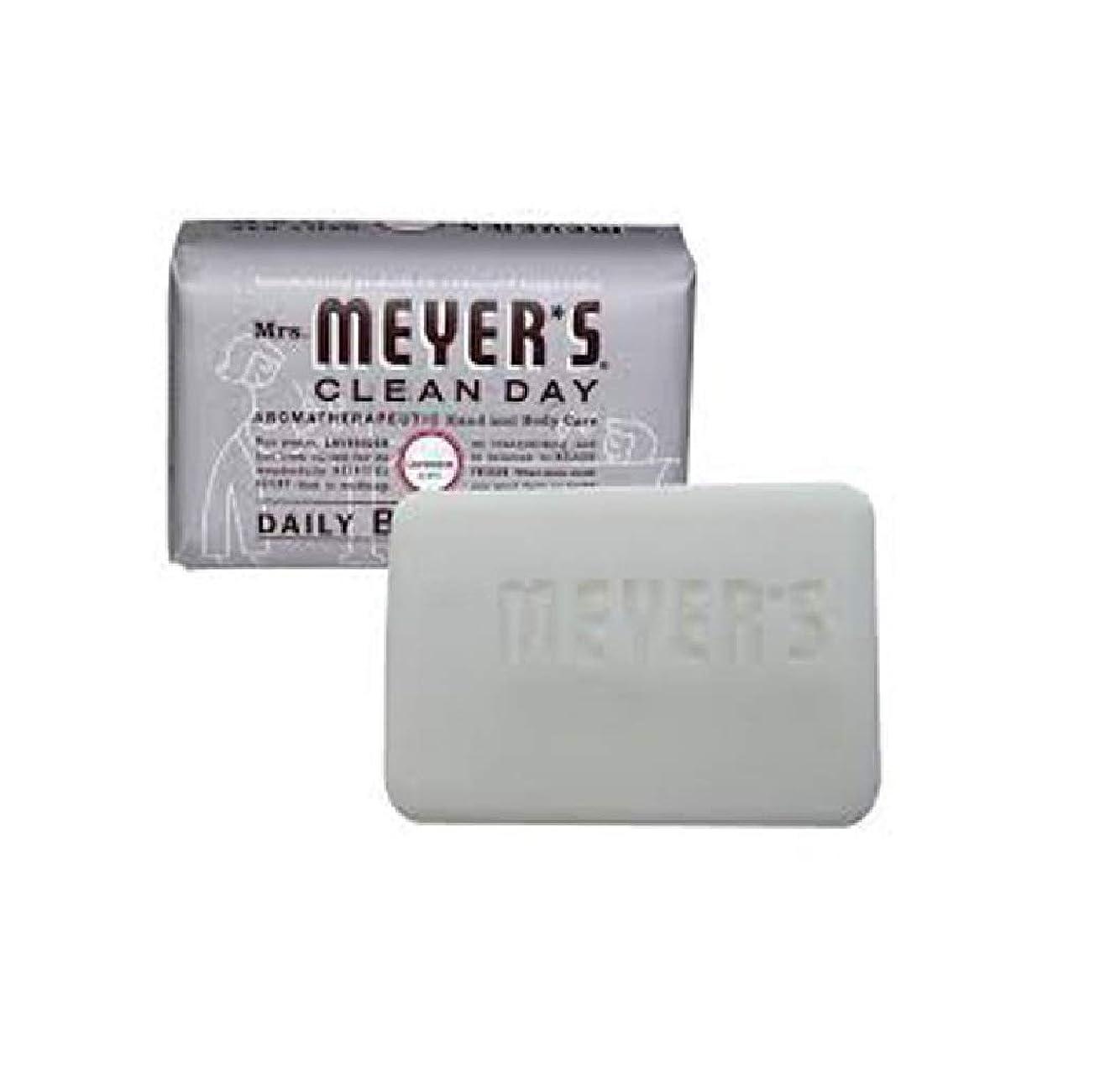 マントル電話する安定2 Packs of Mrs. Meyer's Bar Soap - Lavender - 5.3 Oz by Mrs. Meyer's Clean Day