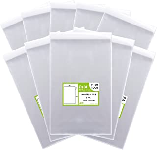 アート・エム【国産】テープ付 A5【 A5用紙 / A4用紙2ッ折り用 】透明OPP袋(透明封筒)【1000枚】30ミクロン厚(標準)160x225+40mm