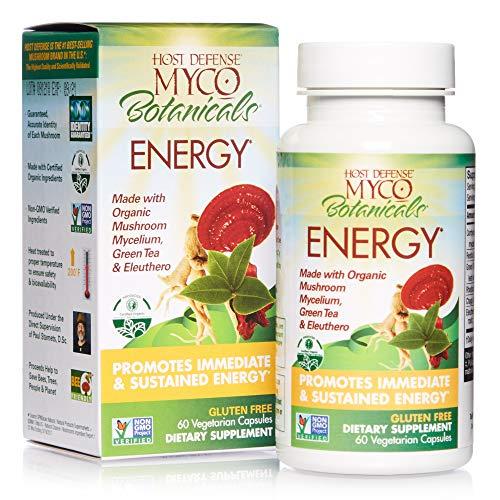 Host Defense, MycoBotanicals Energy, Promotes Immediate and Sustained...