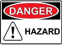 危険危険壁金属ポスターレトロプラーク警告ブリキサインヴィンテージ鉄絵画装飾オフィス寝室リビングルームクラブのための面白い吊り下げ工芸品