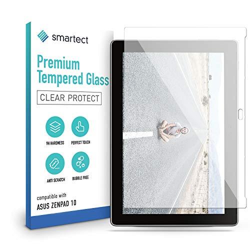 smartect Pellicola Protettiva per Asus ZenPad 10 (Z301MFL) 9H Vetro Temperato – Design Ultra Sottile – Applicazione Anti-Bolle – Anti-Impronte