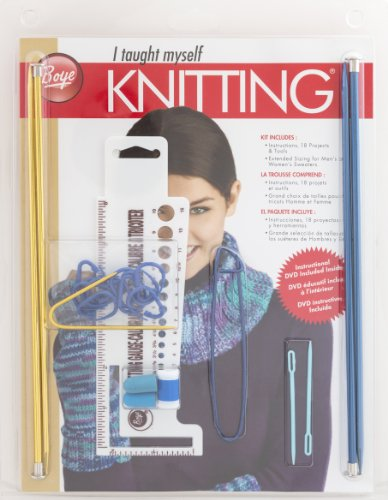 Boye Beginners Teach Yourself Knitting Set