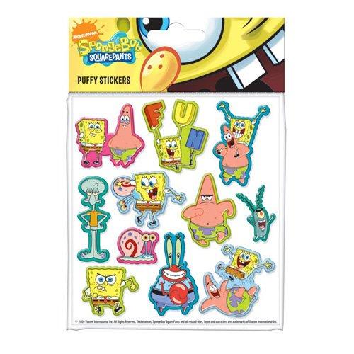 SpongeBob SquarePants - Juego de pegatinas, diseño de Bob Esponja