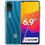 iHunt Note 20 Apex 2021 | Dual Sim | Desbloqueado de fábrica | 6.9' HD+ IPS | Cámara Principal de 13MP | Cámara Selfie de 8 MP | 16+2GB | 3600mAh | Android 9 | Azul