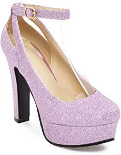 BalaMasa Womens APL11638 Pu Stiletto Heels