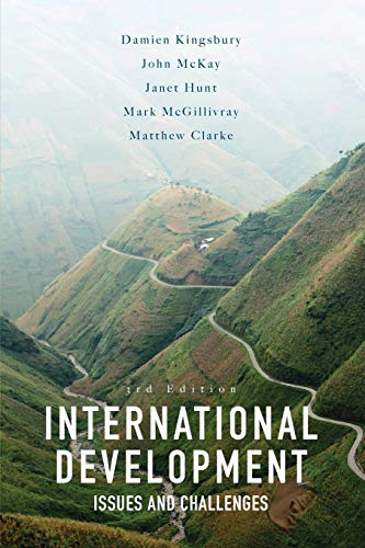 International Development: Issues and Challenges