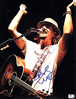 Jason Mraz Signed Autographed 11X14 Photo On Stage with Guitar GV758802