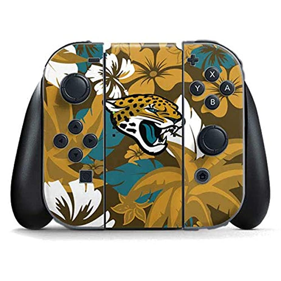 Skinit Jacksonville Jaguars Tropical Print Nintendo Switch Joy Con Controller Skin - Officially Licensed NFL Gaming Decal - Ultra Thin, Lightweight Vinyl Decal Protection ygvmiq5561916