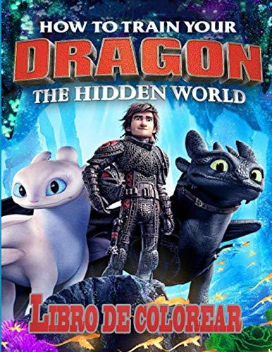 How To Train Your Dragon libro de colorear