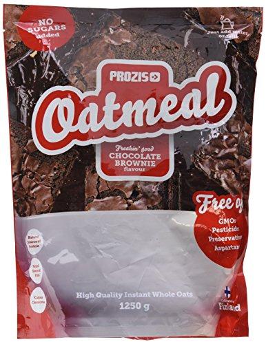 Prozis Oatmeal - Cereales Repletos de Proteínas, Hidratos de Carbono de Alta Calidad y Fibras Saciantes - Sabor Brownie de chocolate - 1250 g