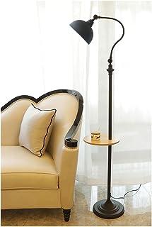 Lampadaire, Lampe de Table Réglable En Laiton Antique Moderne Lampadaire Artisanal Lampe D' intérieur en Métal étude Lumiè...