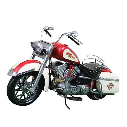NOBRAND Motocicleta Modelo Retro Pintado Metal decoración Car Show Cafe Bar KTV Decoraciones