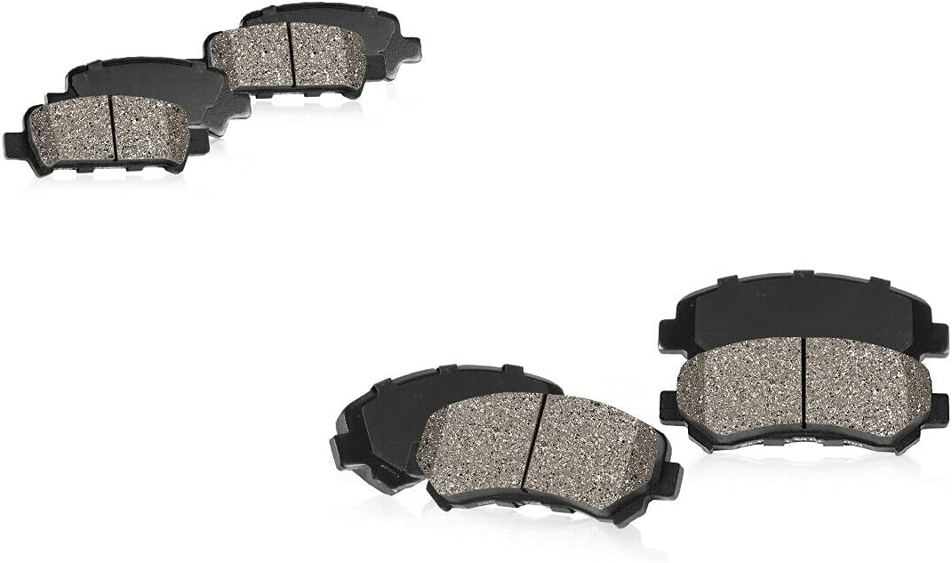 COCOME Customized Front and Today's only Rear SetINFINTI Ceramic Brake Pads c All items free shipping