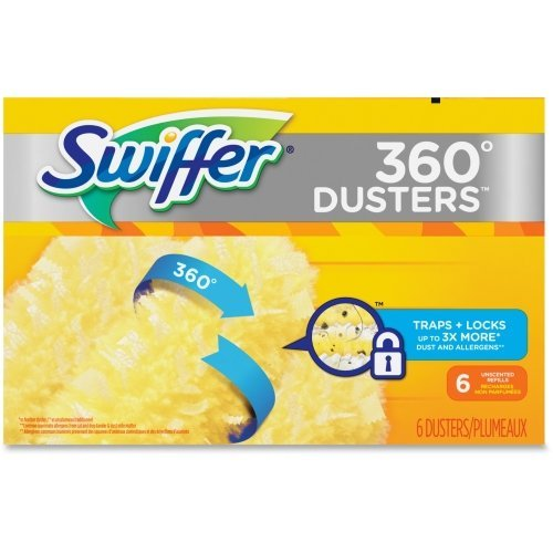 Swiffer - 360 Duster Refill, 6 Refill/Box - Sold As 1 Box - All-around design traps dust maximizing surface area. by Swiffer