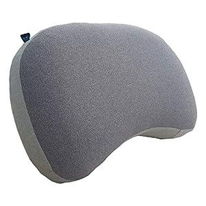 Journext Cojines inflables de Camping y Cojines de Viaje - Superficie Suave, compactos y Ligeros - para Playa, Viaje, Exterior (Grey)