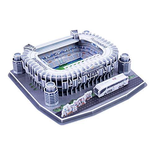 3D Football Stadiums Puzzle, Football Gifts for Boys Estadio Santiago Bernabéu