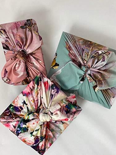 Japanese Style Wrap Das Tuch Furoshiki/Doppel-Faced Printed 70Cm / vielfältigen Einsatz Durable Zubehör