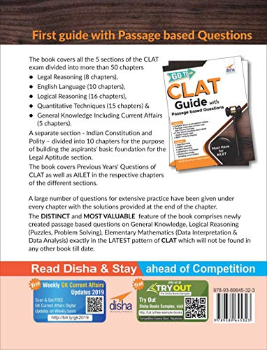 GO to CLAT Guide with Passage Based Questions