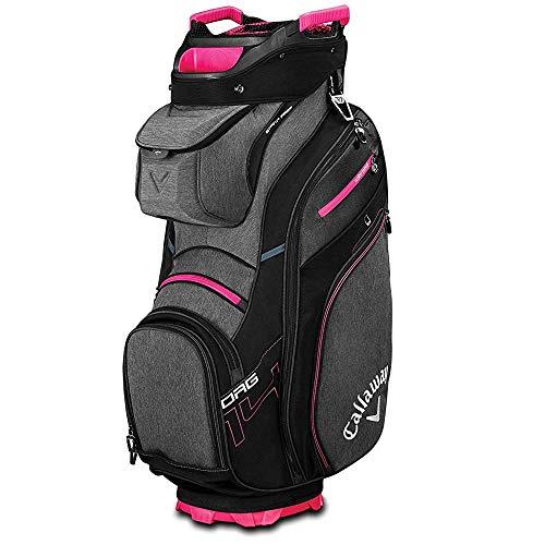 Callaway Golf 2019 Org 14 Cart Bag, Black/Titanium/Pink