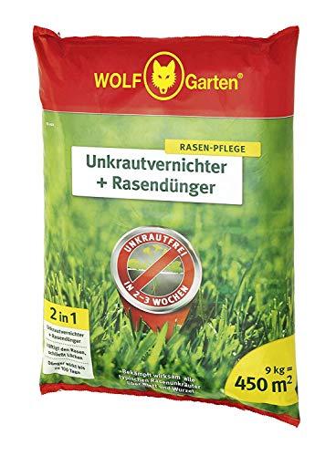 Wolf-Garten SQ 450; 3840745 2-in-1: onkruidverdelger plus gazonmest