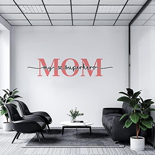 by Unbranded Pegatinas de pared Día de la Madre, Día de la Madre, Día de la Madre, Día de los Coches de Vinilo   Adhesivo de pared Decoración fresca 35.5 pulgadas de ancho