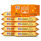 BeyBee Hypoallergenic Baby Water Based Wipes for New Born Babies Sensitive Skin, 80 Wipes (Pack of 2) (Pack of 10)