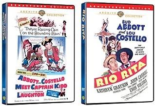 Abbott and Costello 2-Pack (Abbott and Costello Meet Captain Kidd and Rio Rita)