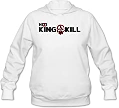 SAMMOI H1Z1 King Of The Kill 1 Men's Athletic Hooded Sweatshirt White