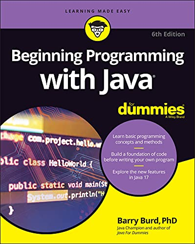 Beginning Programming with Java For Dummies (English Edition)
