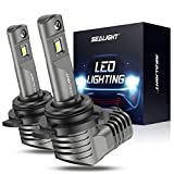 SEALIGHT 9012 HIR2 LED Headlight Bulb, High Beam and Low Beam, 1:1 Halogen