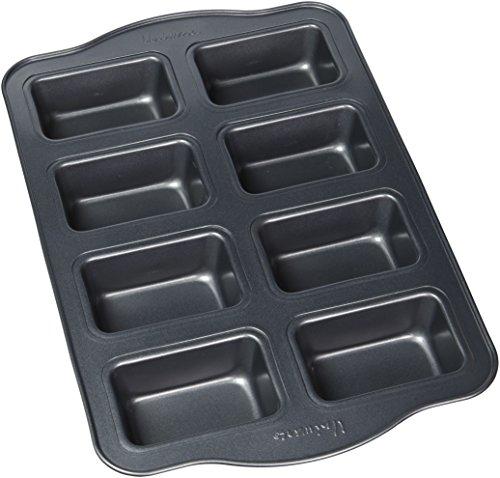 Uniware BN4505 Nonstick Pan with Oversized Handles Horma Antiadherente para Muffins Black