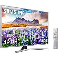 """Samsung 43RU7475 2019 - Smart TV 4K UHD de 43"""", Wide Viewing Angle, HDR (HDR10+), Procesador 4K, Diseño Metálico, Premium One Remote, Apple TV y compatible con Alexa"""