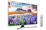 Samsung 4k uhd 2019 50ru7475 - smart tv de 50' [serie ru7400], wide viewing angle, hdr (hdr10+), procesador 4k, diseño metálico, premium one remote, apps en exclusiva y compatible con alexa