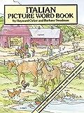 Italian Picture Word Book (Dover Children's Language Activity Books) (Paperback)