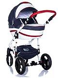 Kombi Kinderwagen Travel System Adamex Vicco R1 3in1 Buggy Sportwagen Babyschale Autositz Kite 0-13kg (3in1 (+ Babyschale))