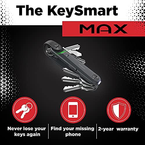 Organiseur de clés connecté KeySmart Max avec Technologie Bl