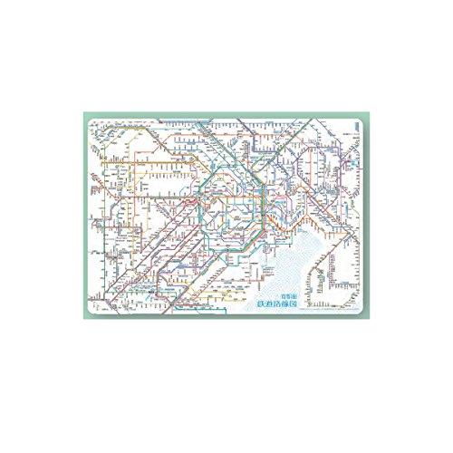 鉄道路線図 下敷き 首都圏 日本語版