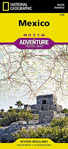 Mexico (National Geographic Adventure Map, 3108)