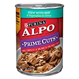 Purina 13.2 oz Alpo Beef Stew with Vegetables Prime Cuts Dog Food