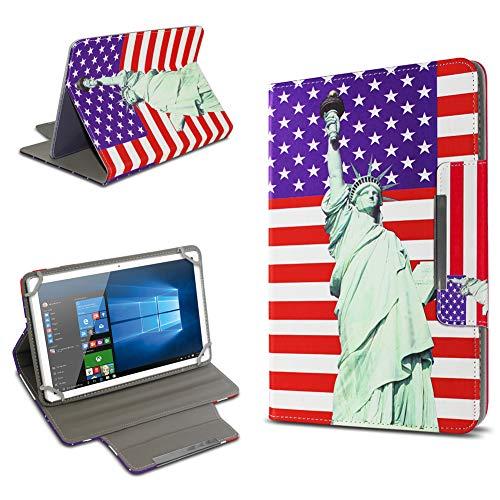 UC-Express Universal Tablet Schutz Hülle 10-10.1 Zoll Tasche Schutzhülle Tab Hülle Cover Bag, Motiv:Motiv 11, Tablet Modell für:Odys Score Plus 3G