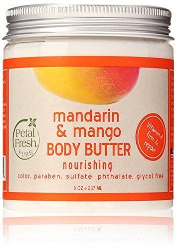 Petal Fresh Body Butter, Mandarin/Mango, 8 Ounce by Petal Fresh