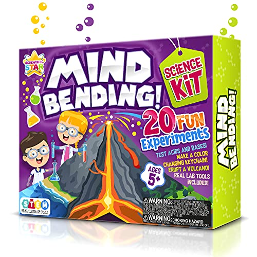 SCIENTIFIC WHIZ Science Set of Experiments for Kids . 20 Fun STEM...