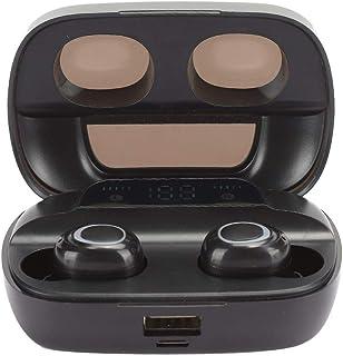 Trådlöst headset bluetooth öronknoppar stereoheadset LED-strömskärm ergonomisk design för fitness
