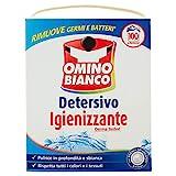 Omino Bianco - Detersivo Lavatrice in Polvere, 100 Lavaggi, Igienizzante con Antibatterico...
