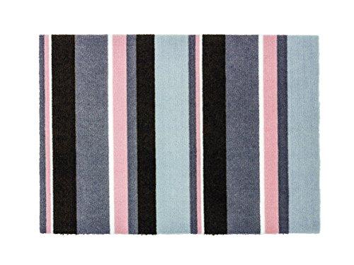 Schöner Wohnen Fußmatte BROOKLYN | 1660-15 - grau - rosa | 66 x 110 cm