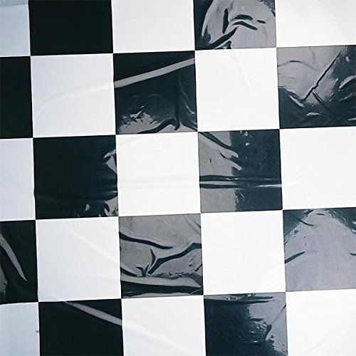 Black and White Checkered Polyvinyl, Flame Retardant