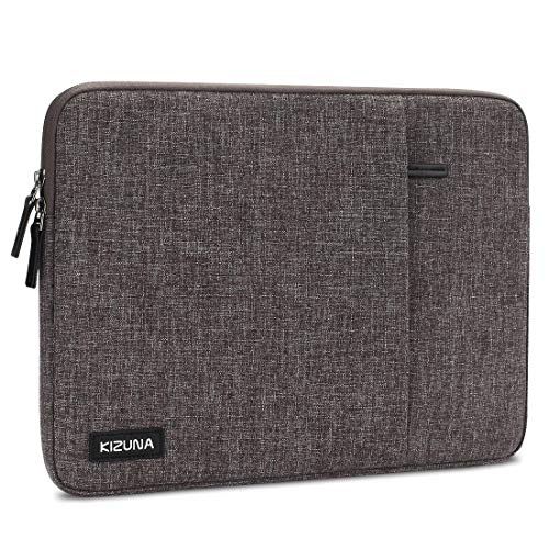 kizuna 11-11.6 Inch Laptop Sleeve Case Computer Bag for 13' Surface Pro X/New 12' MacBook/13 MacBook Air Retina/13 Pro Touch Bar/Dell XPS 13/Huawei MateBook 13/11.6' Lenovo Chromebook C330,Brown