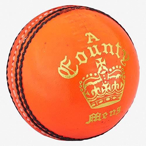 Readers Unisex's County Crown - Pelota de críquet (155 ml), Color Naranja