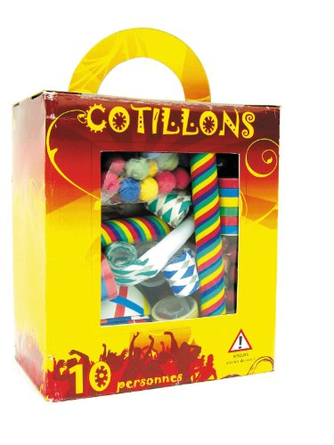 Party Pro Boite de Cotillons 10 Personnes, Unisex-Adult, 40135046, Taille Unique
